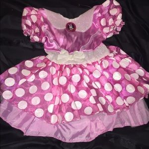 Minnie Mouse costume 2-3T